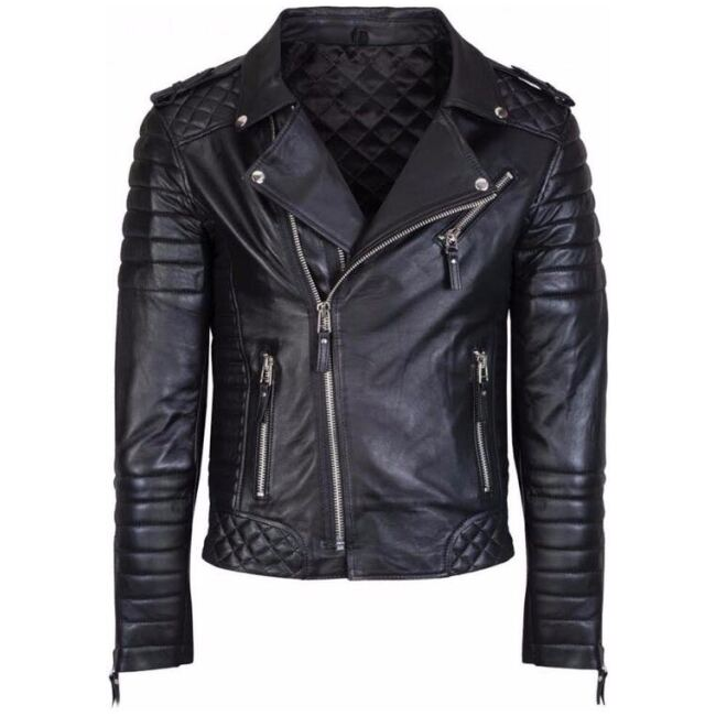 Quilted Leather Jacket