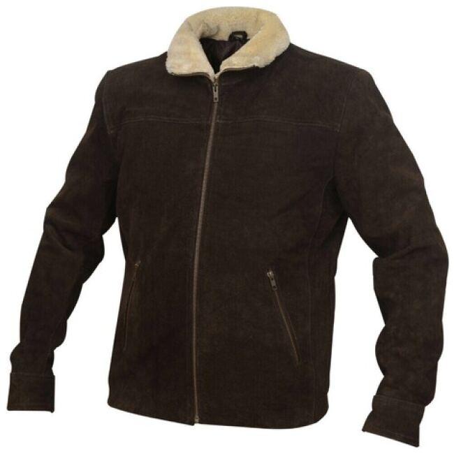 walking dead seuded Leather Jacket