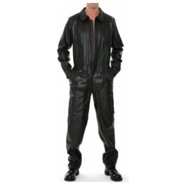 Leather Overalls Men