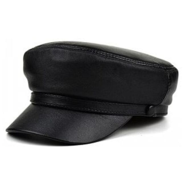 Army Leather Hat