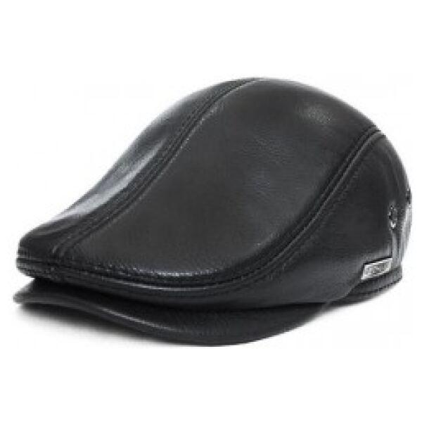Leather Flat Cap